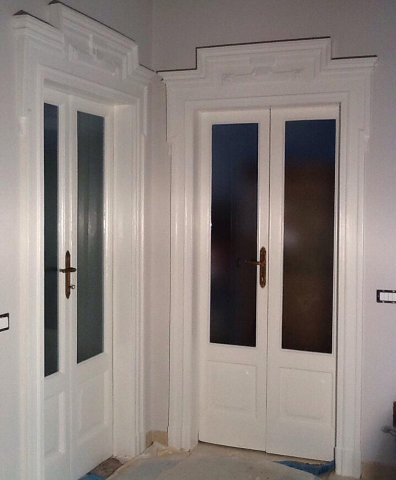 MILANO - Recupero infissi interni in legno presso Palazzo ...